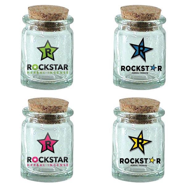 Inscrição nº                                         442                                      do Concurso para                                         Logo Design for Rockstar Herbal Incense Company
