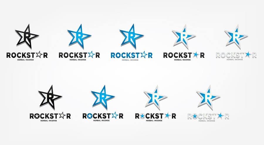 Proposition n°                                        263                                      du concours                                         Logo Design for Rockstar Herbal Incense Company