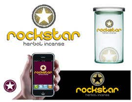 #487 para Logo Design for Rockstar Herbal Incense Company por Identity12