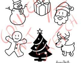 #8 for Cute Christmas Drawings af AhiruDuck