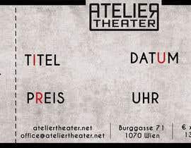 Nro 5 kilpailuun Create a Template for an entrance ticket for a theatre! käyttäjältä soosca