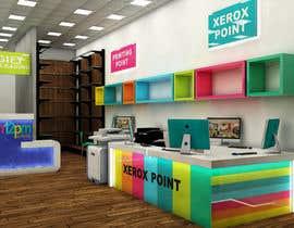 Nro 25 kilpailuun 3D render for small stationery store layout käyttäjältä Zemesh