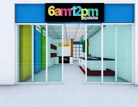 Nro 32 kilpailuun 3D render for small stationery store layout käyttäjältä davidtorres82