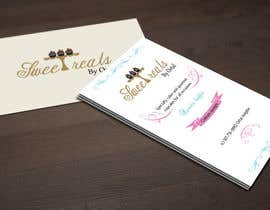 nº 17 pour Design some Business Cards for Sweet treats by ortal par DanaDouqa