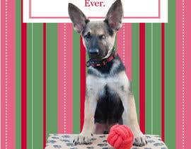 #15 untuk Design a 5x7 Christmas Card for Southeast German Shepherd Rescue oleh brandee75