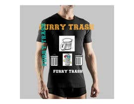 #16 for Design a T-Shirt called Furry Trash by AneeqNaeem