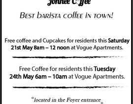 Nro 14 kilpailuun Free Coffee and Cupcakes! käyttäjältä kxremail