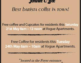 Nro 18 kilpailuun Free Coffee and Cupcakes! käyttäjältä kxremail