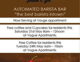Nro 26 kilpailuun Free Coffee and Cupcakes! käyttäjältä Ashif143