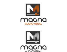 #104 para Design a Logo for MAGNA AUDIOVISUAL de EstrategiaDesign