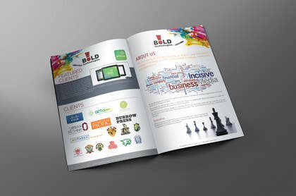 #7 for Design a Brochure for BOLD! Mobile Community Platform by xtreemsteel