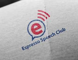 "venky9291 tarafından Logo for a speaking club named ""Espresso Speech Club"" için no 3"
