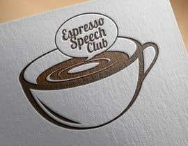 "eeyamms tarafından Logo for a speaking club named ""Espresso Speech Club"" için no 4"