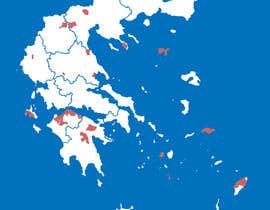 Nro 2 kilpailuun Map of Greek Wine Regions käyttäjältä luutrongtin89