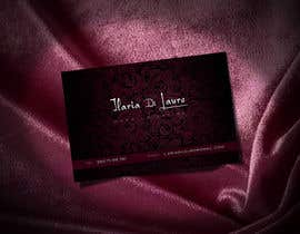 #319 for Business Card Design for Ilaria Di Lauro - Make-up artist by Zveki
