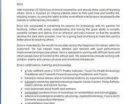 Nro 4 kilpailuun Short Professional Bio and an effective marketing letter to attract sponsors. käyttäjältä andracarbunaru