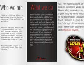 #14 for Design a Brochure for a sports company by anusachu