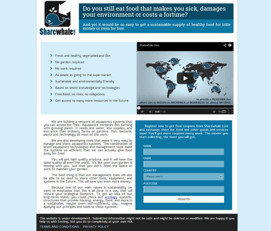 Bài tham dự cuộc thi #24 cho Design CSS for single page HTML file