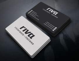 Nro 21 kilpailuun Design a restaurant business card käyttäjältä Kamrunnaher20