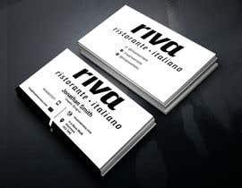 Nro 5 kilpailuun Design a restaurant business card käyttäjältä sanjoypl15