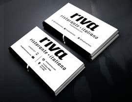 Nro 7 kilpailuun Design a restaurant business card käyttäjältä sanjoypl15