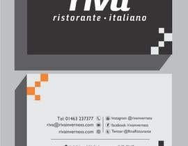 #11 for Design a restaurant business card by shoebnoor