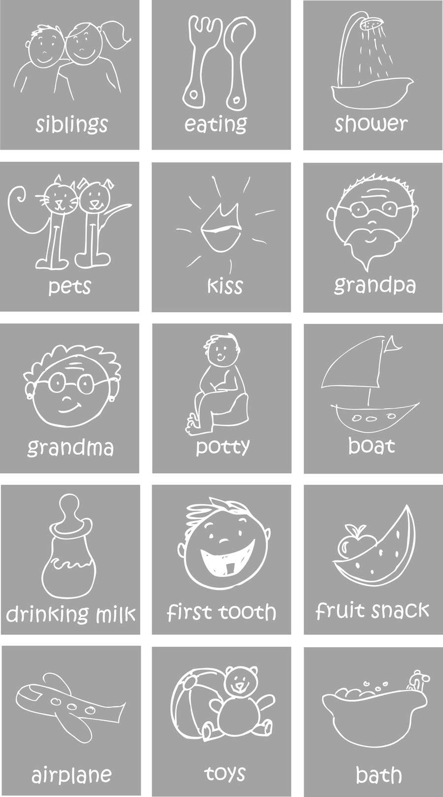 #11 for Draw a set of 42 simple icons for an iphone app by passion4creation