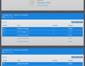 #6 for Rowing Regatta Live-Results UI by JulijanAndjelic