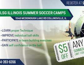 Nro 14 kilpailuun Design an Advertisement for soccer camp käyttäjältä namishkashyap