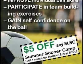 Nro 1 kilpailuun Design an Advertisement for soccer camp käyttäjältä fconstantin89