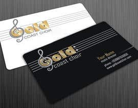 #189 untuk Logo Design for Gold Coast Choir oleh lastmimzy