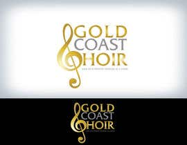 #188 untuk Logo Design for Gold Coast Choir oleh Clarify