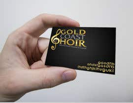 #221 pentru Logo Design for Gold Coast Choir de către Clarify