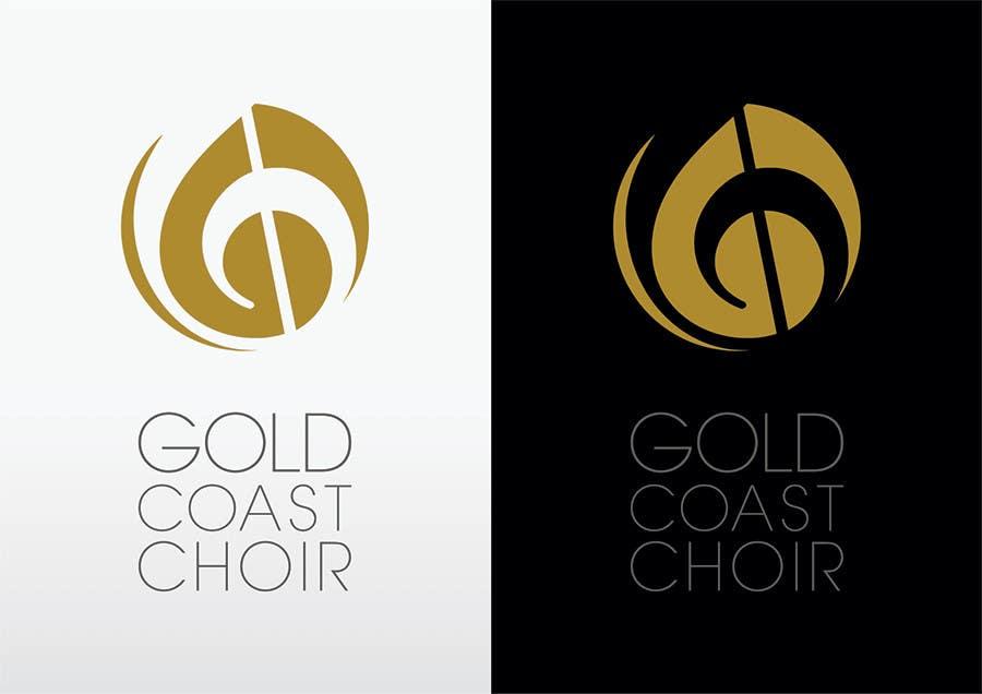 Kilpailutyö #432 kilpailussa Logo Design for Gold Coast Choir