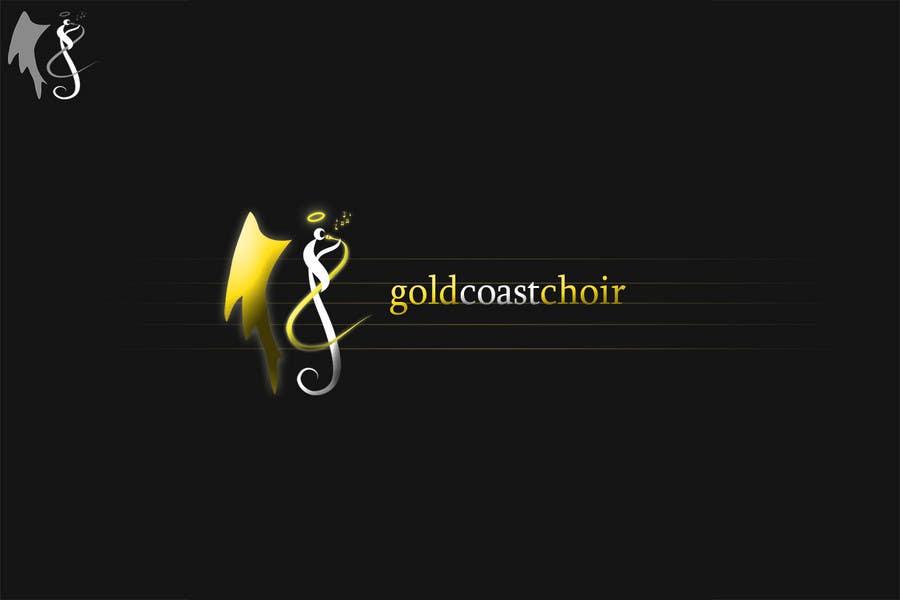 Kilpailutyö #389 kilpailussa Logo Design for Gold Coast Choir