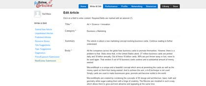 #19 for Write Articles for reputable US blogs by smshah