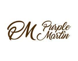 "MarvinWanzuita tarafından Design a logo for a leather brand ""Purple Martin"" için no 35"