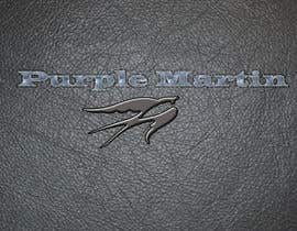 "Ivanisov tarafından Design a logo for a leather brand ""Purple Martin"" için no 53"