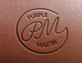 "PowerDsign tarafından Design a logo for a leather brand ""Purple Martin"" için no 46"