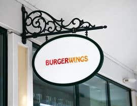 Nro 21 kilpailuun Design a burger restaurant store sign käyttäjältä muskaannadaf