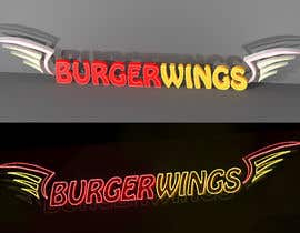 Nro 16 kilpailuun Design a burger restaurant store sign käyttäjältä bakhmutova