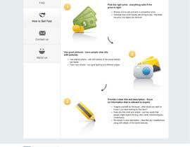 #1 para redesign content area on 3 non-performing pages on our website por DelicateCreation