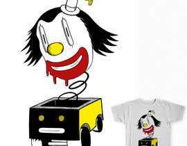 #10 untuk Design a t-shirt with a clown illustration - cartoon oleh maximo20858