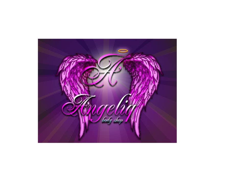 Penyertaan Peraduan #158 untuk I need some Graphic Design for an  Angel Logo