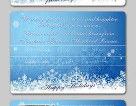 #11 para Design a 5x7 Christmas Card for SGSR por amcgabeykoon