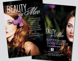 Nro 29 kilpailuun Design a Flyer for beauty services for women käyttäjältä DaveWL