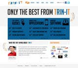 Contest Entry #23 for Website Design for Trin-iT Software Solutions