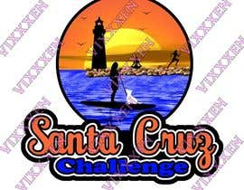 nº 88 pour Illustration Surfer Sunset Santa Cruz Dog LOGO contest par Vixxxen