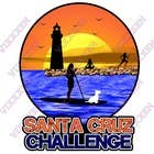 Contest Entry #101 for Illustration Surfer Sunset Santa Cruz Dog LOGO contest