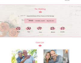 bestwebthemes tarafından Design for wedding website için no 10